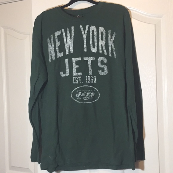 687fbbe32 NFL Jets football thermal shirt large. M 5ab1a9805521beaa5a072ce4